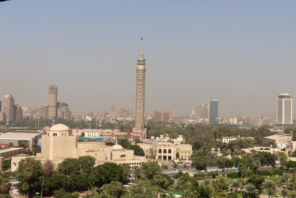 The Cairo Tower and Zamalek. Things to do in Cairo