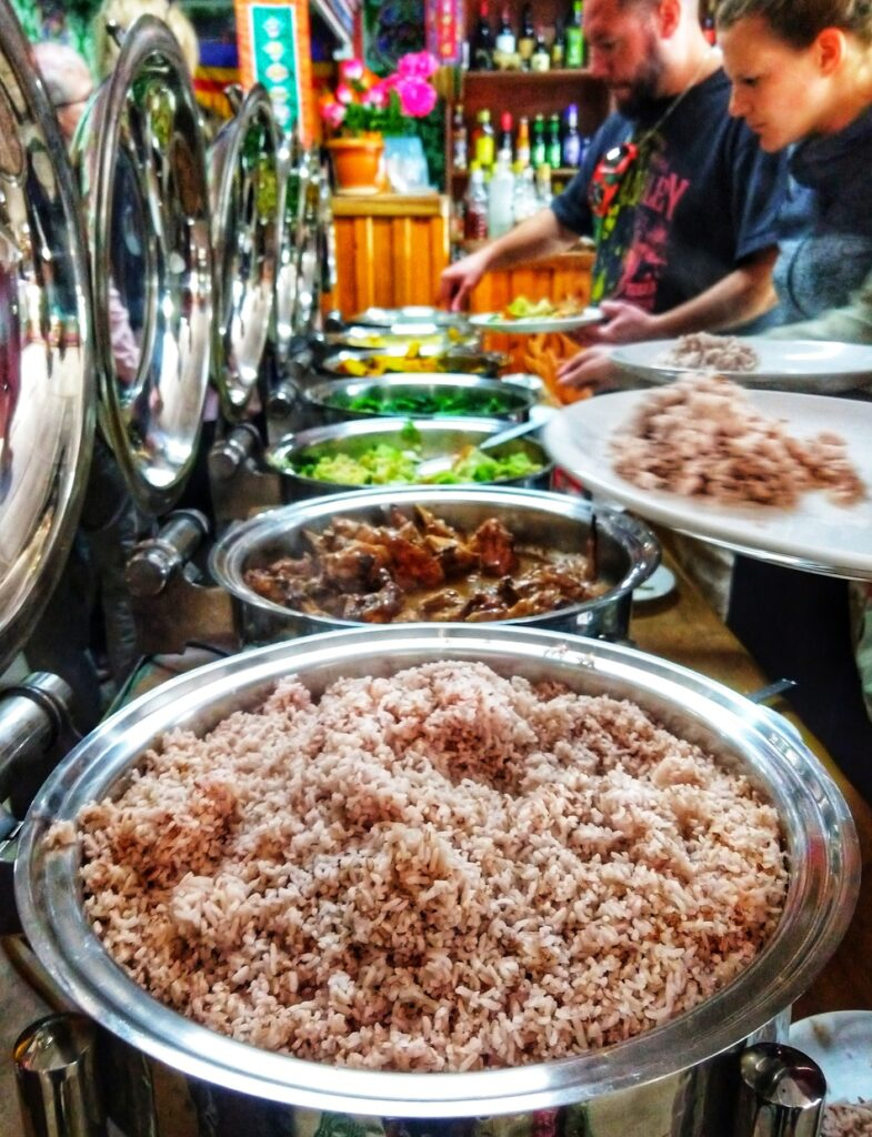 Is it worth visiting Bhutan? What's the food like? Typical Bhutanese Buffet