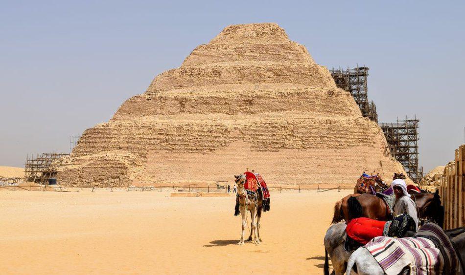 The Saqqara step pyramid day trip to take from Cairo