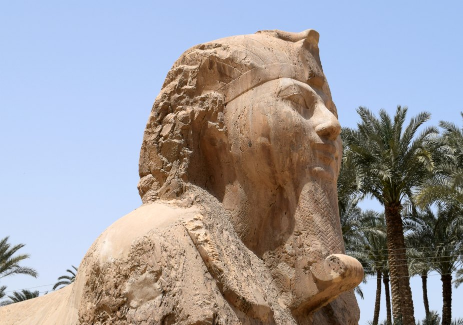 The Sphinx of Memphis a Day Trip from Cairo