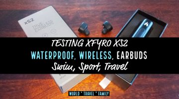 Wireless EarBuds XFYRO XS2 Review for swimming running travel