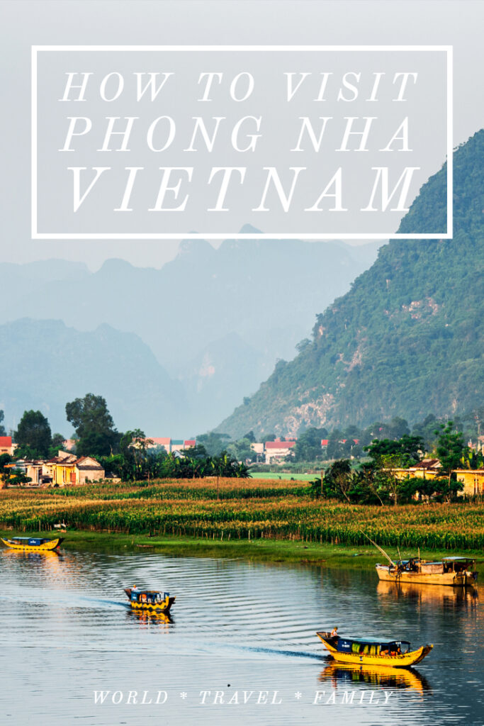 How to visit Phong Nha Vietnam National Park Caves