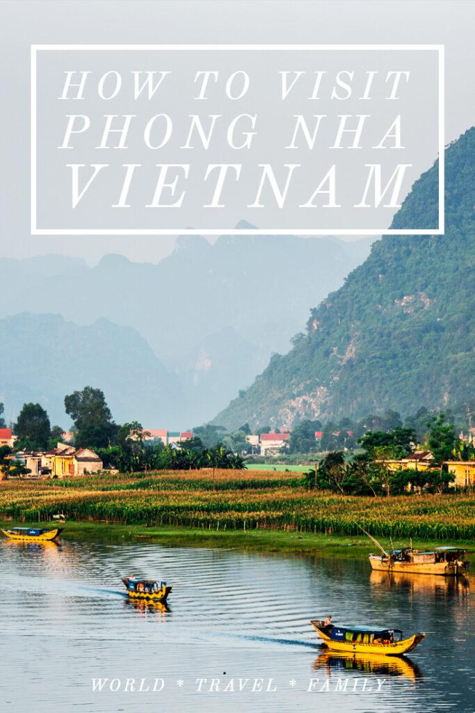How to visit Phong Nha Vietnam National Park Caves