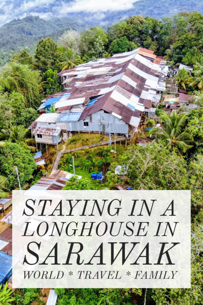 Staying in a Longhouse in Sarawak Malaysia