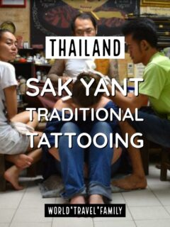 Traditional Thai Tattoo Bangkok Thailand