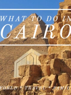 What to do in Cairo pyramids view