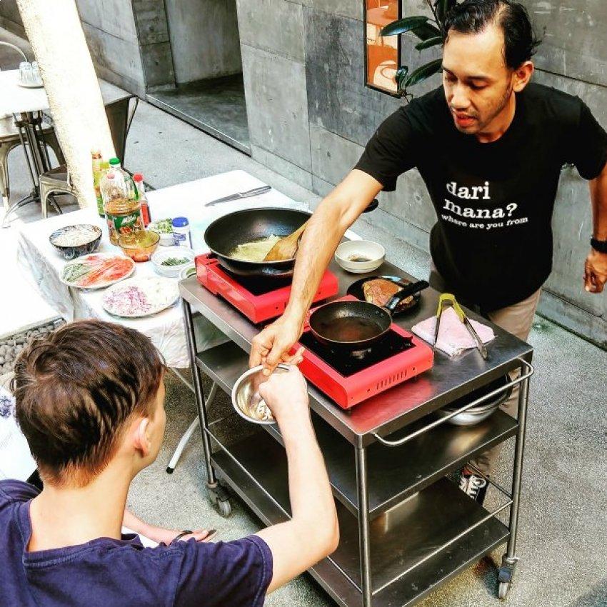 Cooking Class Food in Kuala Lumpur with Kids