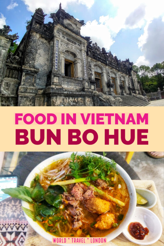 Food in Vietnam Bun Bo Hue