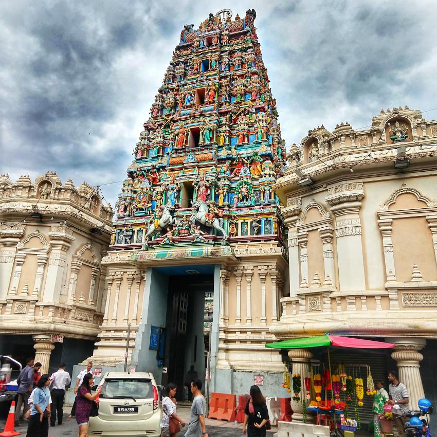 Gopuram Hindu Temples in Kuala Lumpur With Kids