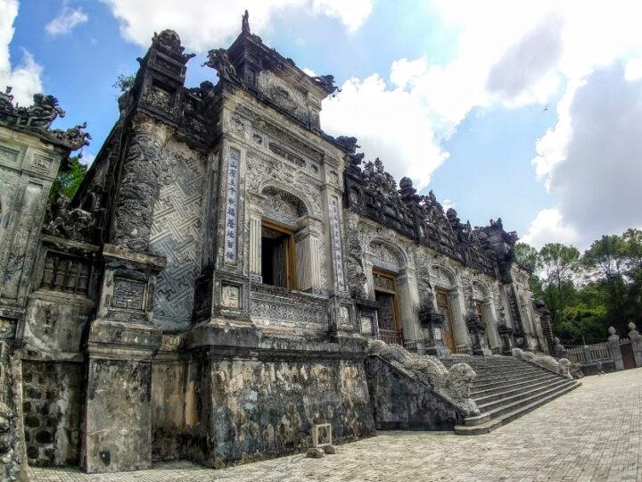Hue Vietnam - the royal tombs - origins on bun bo hue