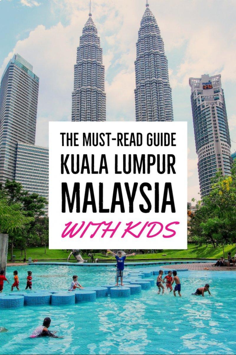 马来西亚吉隆坡与孩子们