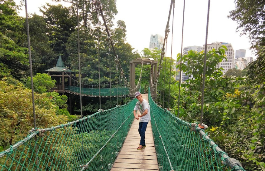 Raised walkways Kuala Lumpur With Kids Forest Eco Park With Kids