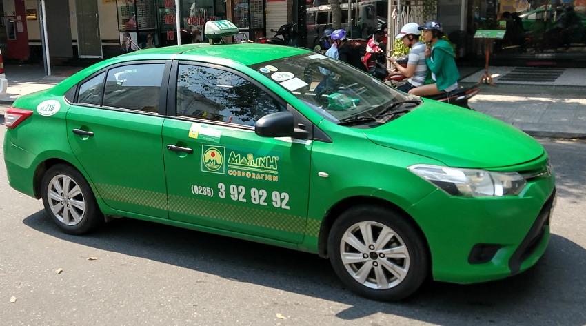 Mailinh taxi Hoi An to Danang