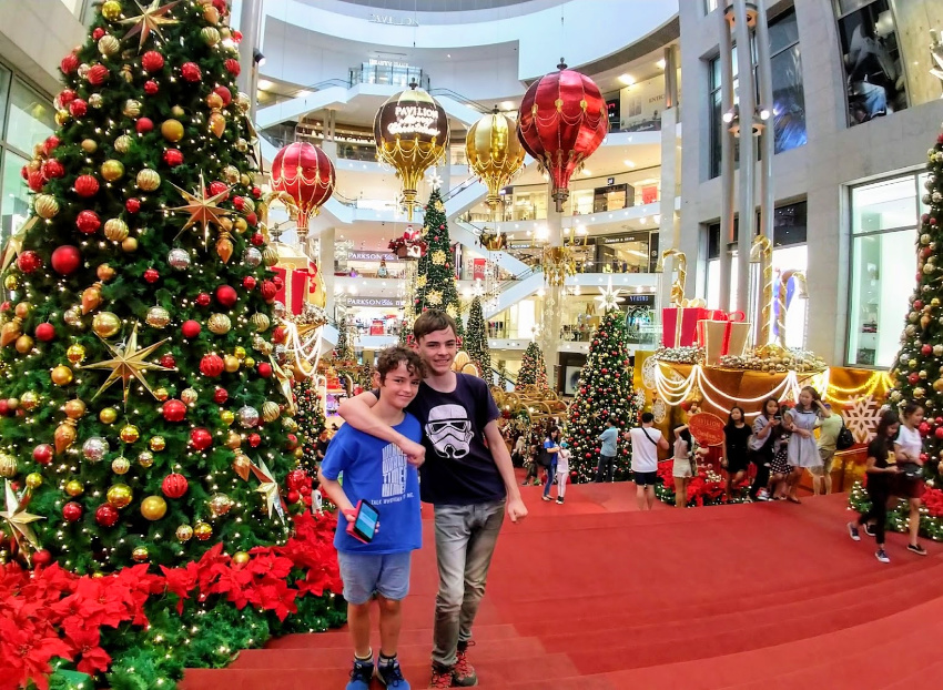 Christmas at Malls in KL with Kids