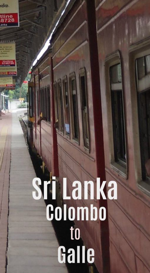 Getting from Colombo to Galle by train