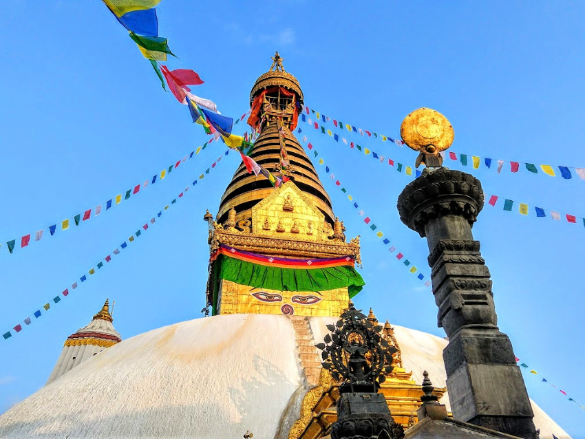 Swayambhunath Stupa and what it represents