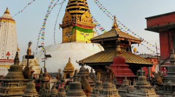 Buddha Eyes Swayambhunath The Monkey Temple Nepal