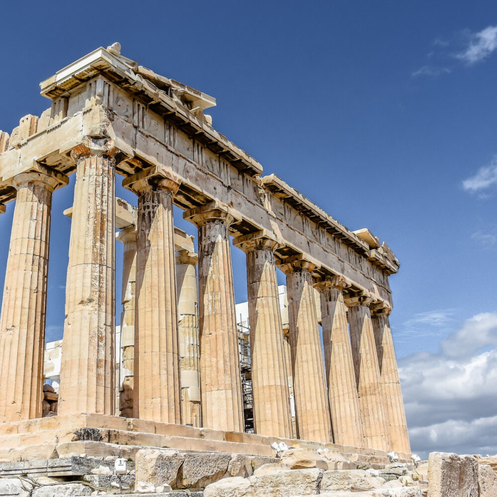 best places to visit in europe athens ruins city parthenon