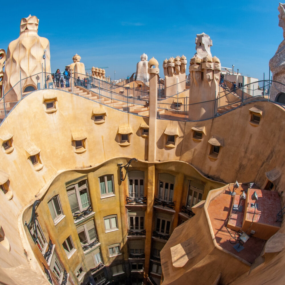 best places to visit in europe barcelona spain city view