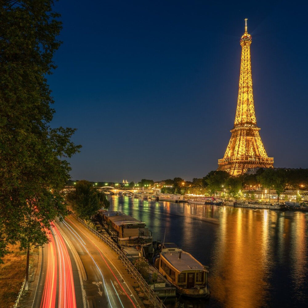 best places to visit in europe paris city view