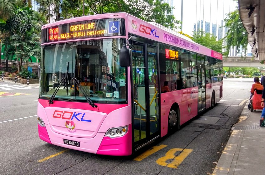 kuala lumpur travel tips use GO KL families use free buses