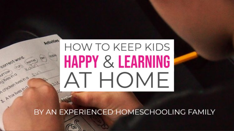 How to keep kids happy and learning at home all day