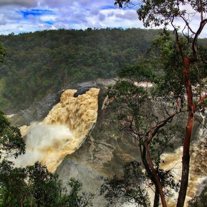 Barron River Falls near Cairns Queensland Bucket List Places