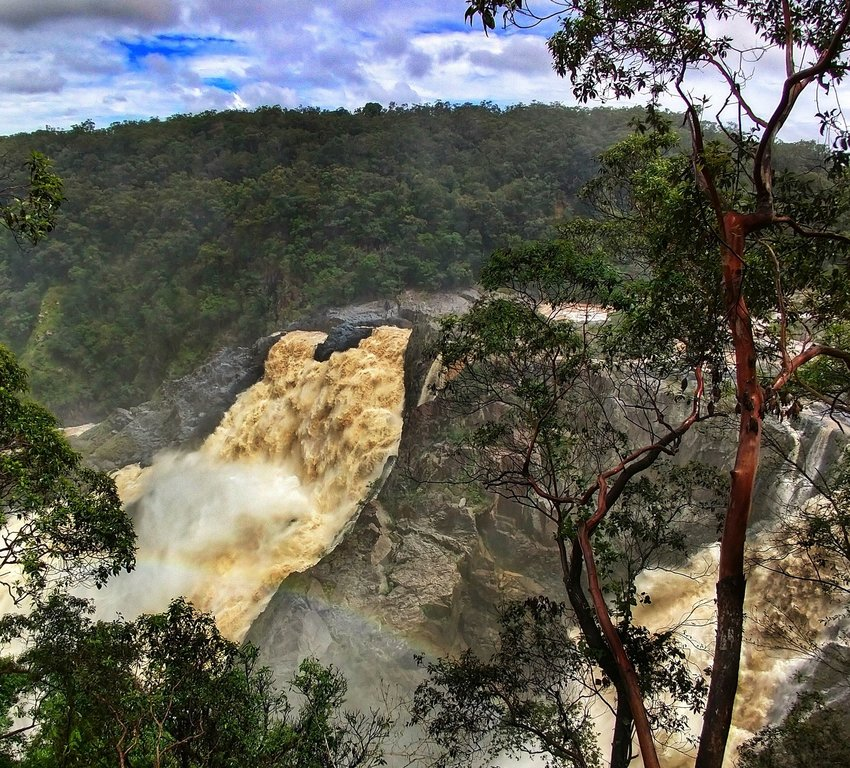 Barron River Falls near Cairns Queensland Bucket List Places