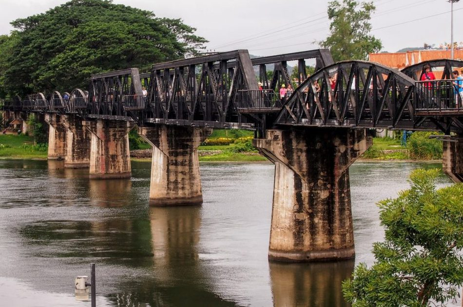 The Bridge on The River Kwai Kanchanaburi Thailand