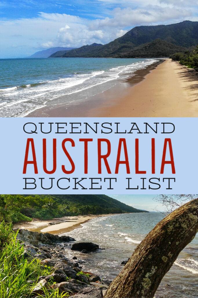 Queensland Australia Bucket List