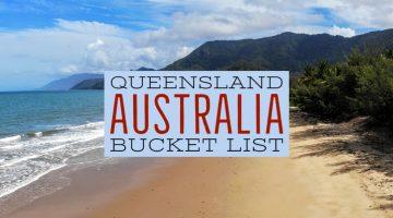 Queensland Australia Bucket List places beautiful beach