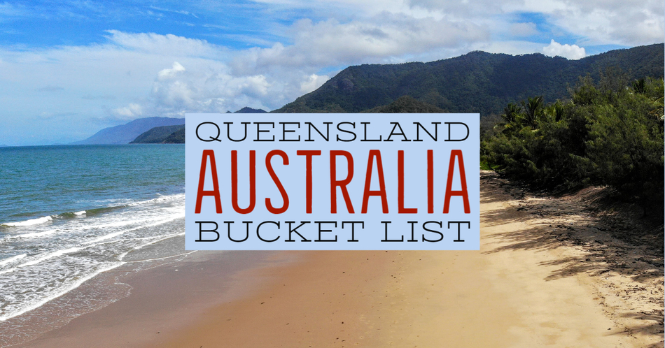Queensland Australia Bucket List places beautiful beach