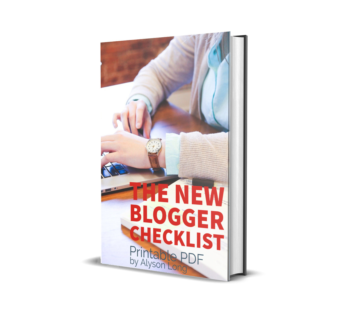 Book Mock Up The New Blogger Checklist