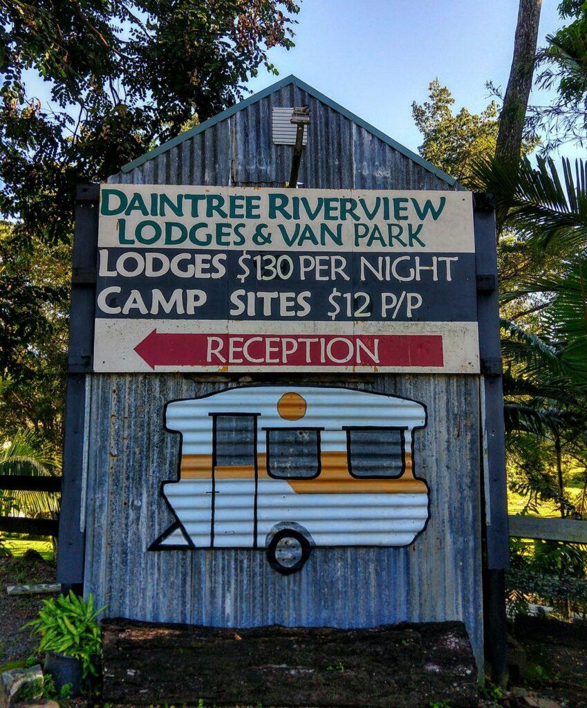 Camp Site Price List Daintree River View Camp Site Daintree Village