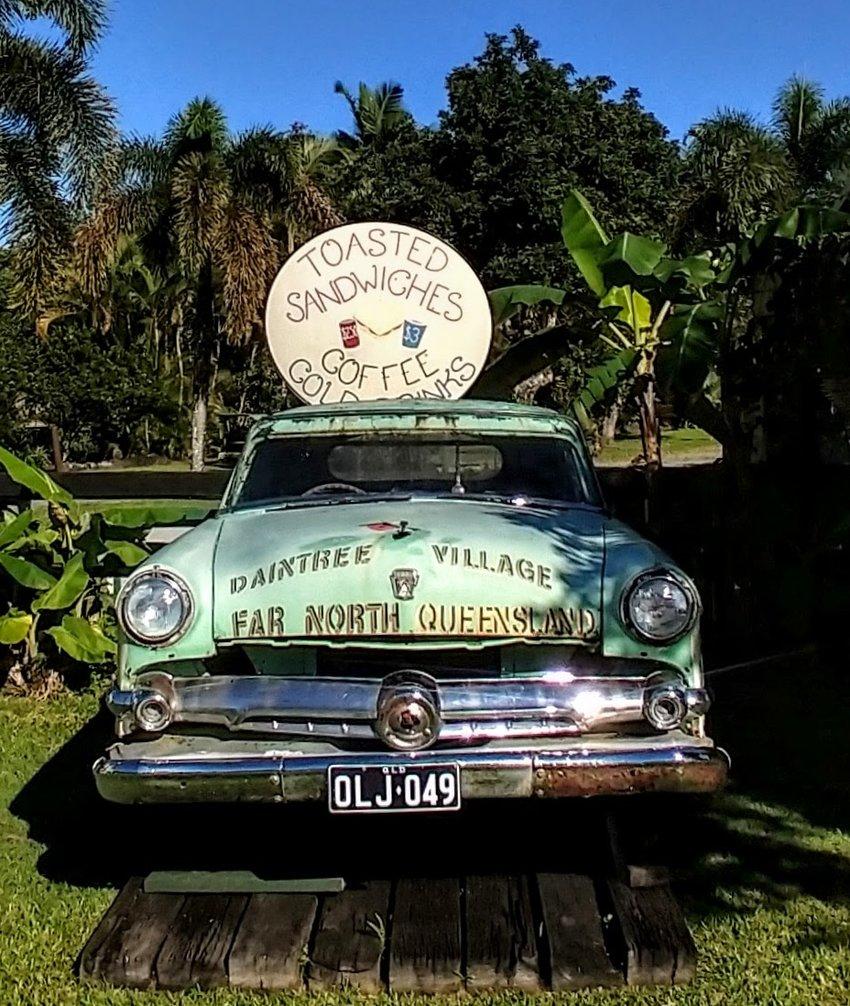 Daintree Village Old Car