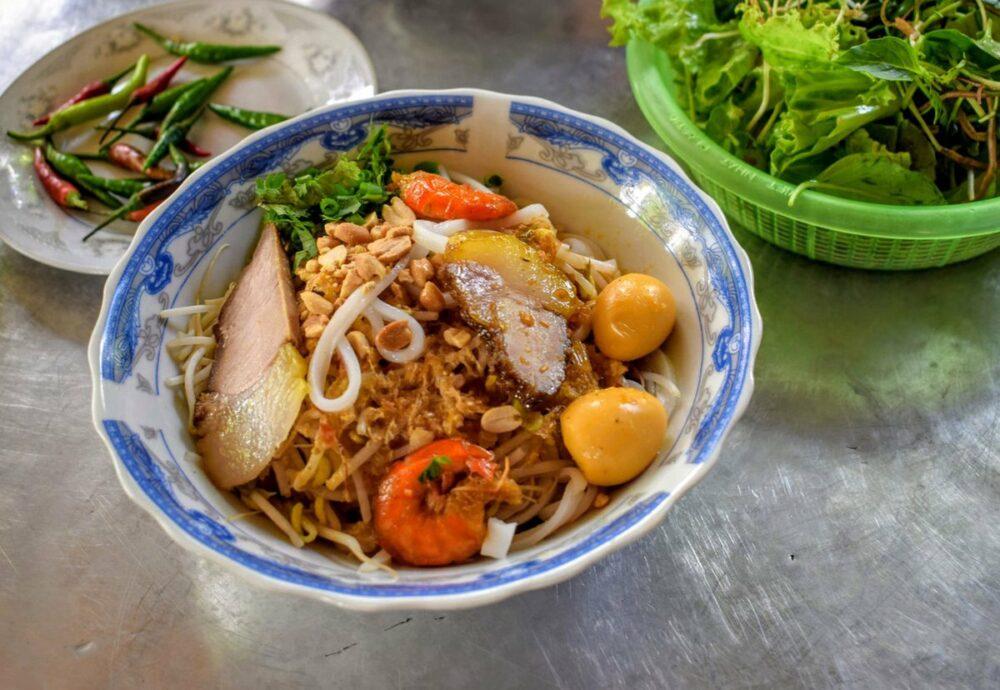 越南街头食品的旅行食品成本