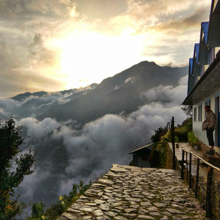 Lodge in the Himalayas Nepal as a travel destination