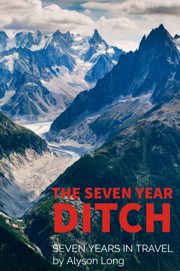 Book cover The seven Year Ditch Seven Years In Travel