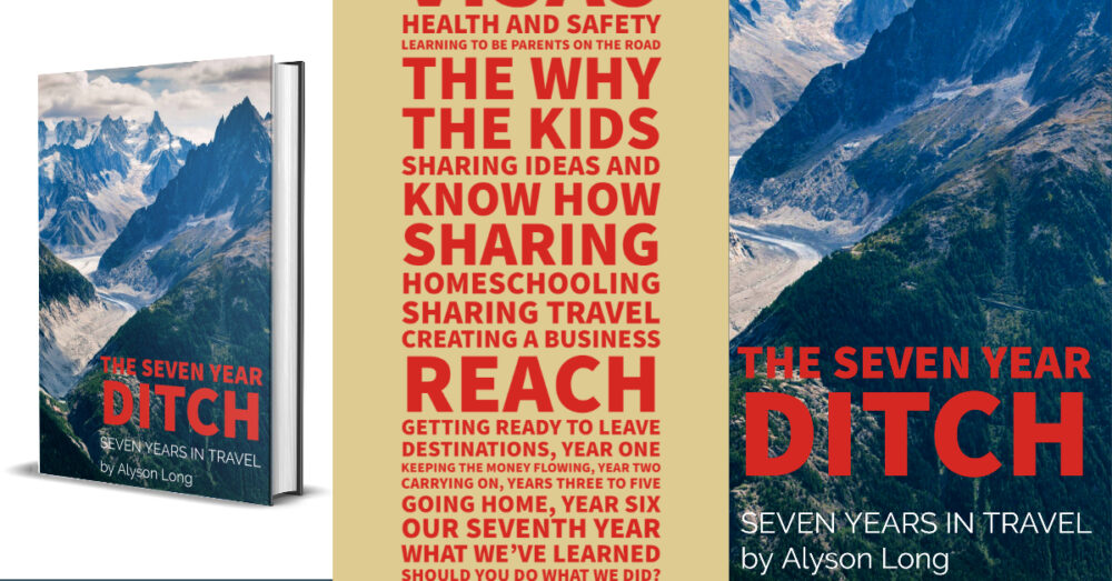 cover and index of ebookThe seven Year Ditch Seven Years In Travel featured