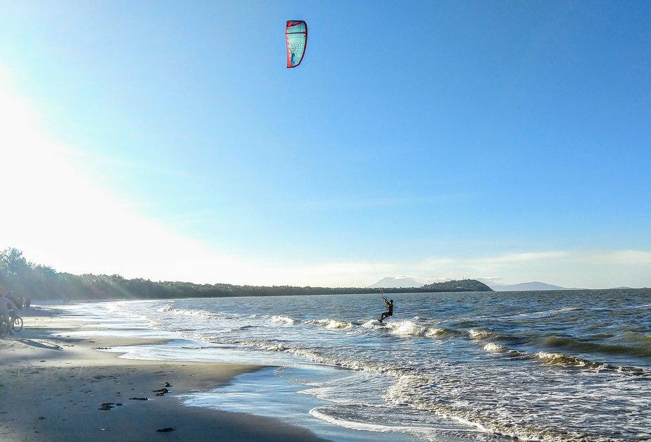Things to do in Port Douglas Kite Surfing Four Mile Beach Kite Surfing in Winter