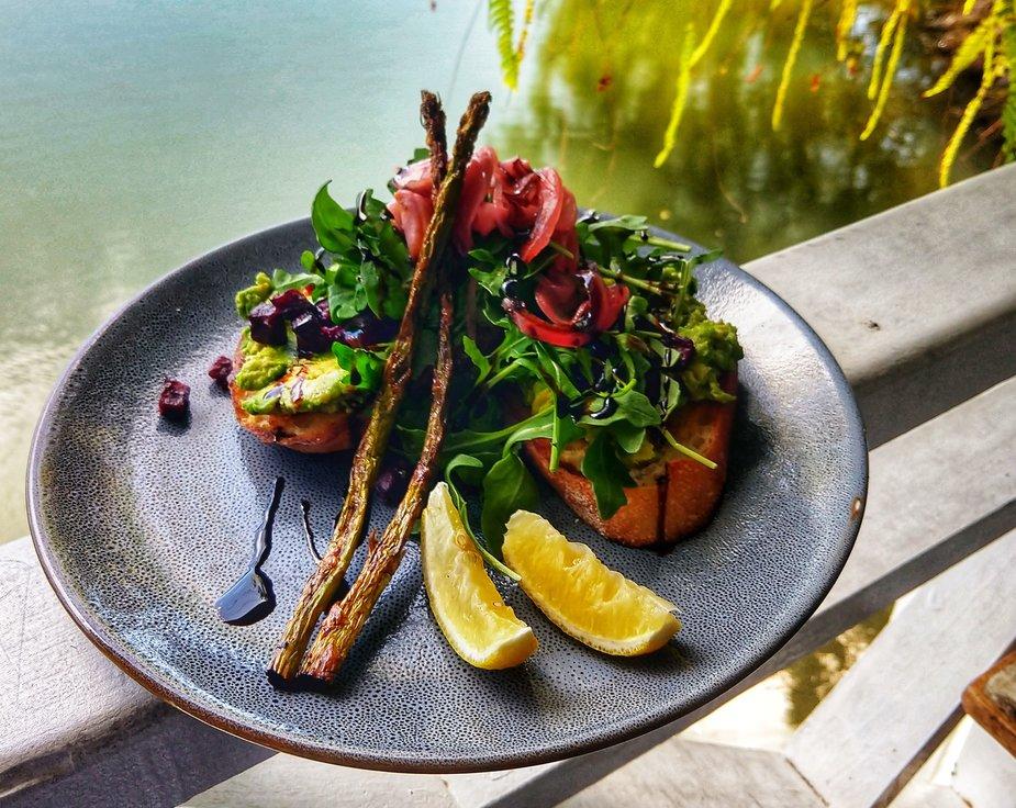 water side dining in Port Douglas St Crispins best breakfast