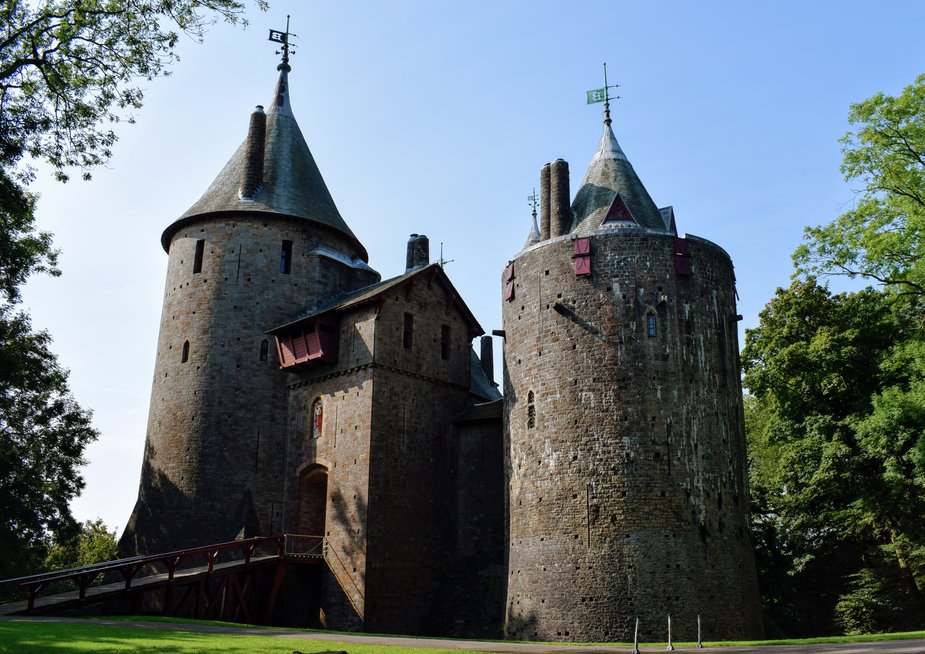 Castell Coch Wales with Kids beautiful Welsh castle