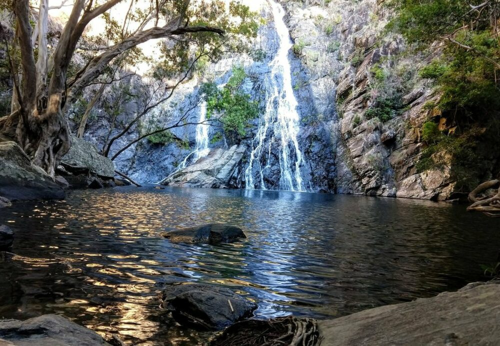 Hartley's Creek Falls Waterfall and swimming hole near Port Douglas