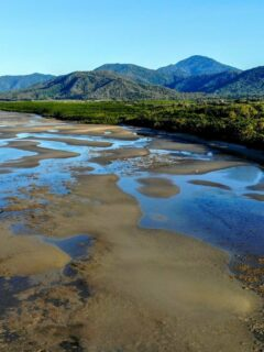 Port Douglas Beach at Low Tide