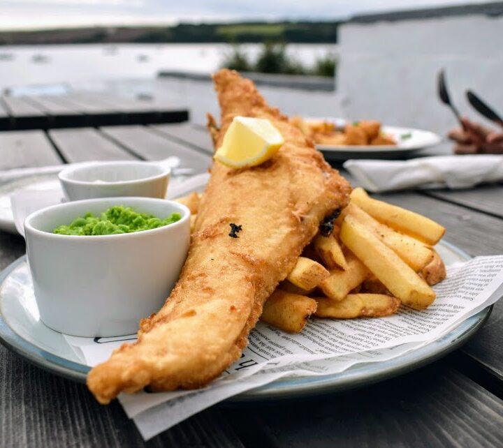 British fish and chips