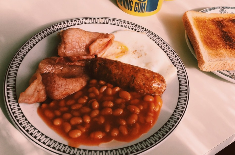 british food breakfast
