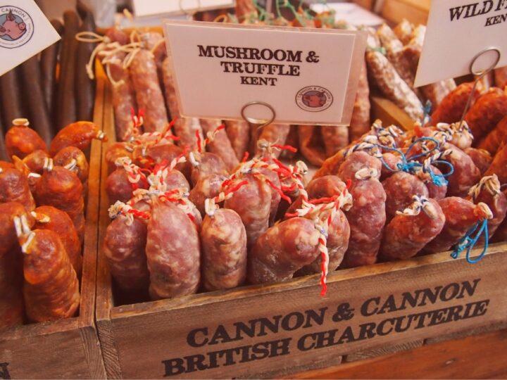 british food sausages