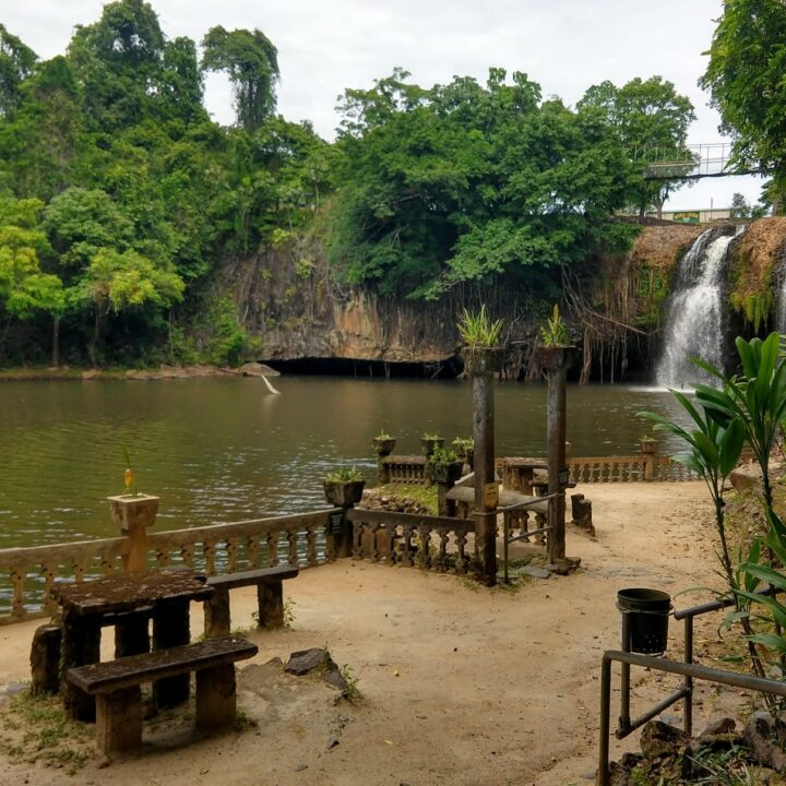 Mena Creek Falls Picnic Area and Peasure Park at Paronella Park Queensland