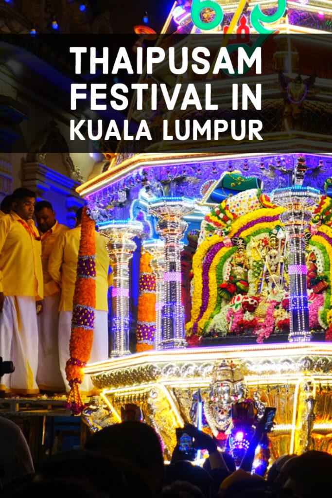 Thaipusam Festival in Kuala Lumpur