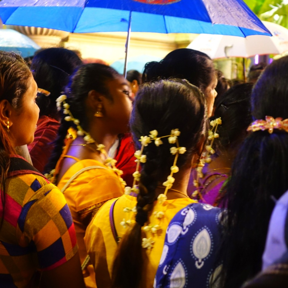 Thaipusam processiony